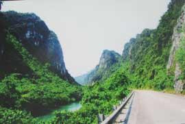 Một nét địa hình ở Phong Nha - Kẻ Bàng