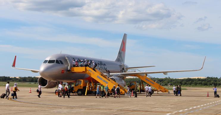 Đường bay Đồng Hới-Chiang Mai và ngược lại được triển khai thực hiện tốt để đáp ứng nhu cầu của du khách.