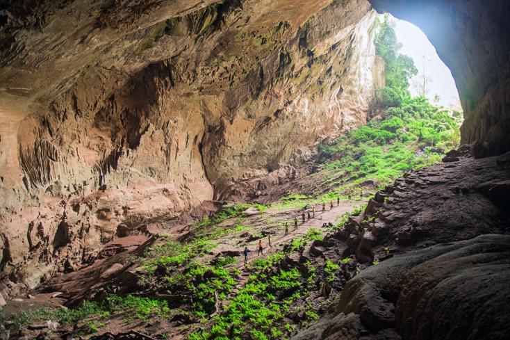 Vẻ đẹp của hang Pygmy luôn thu hút sự đam mê khám phá của nhiều du khách (ảnh Công ty TNHH Jungle Boss cung cấp).