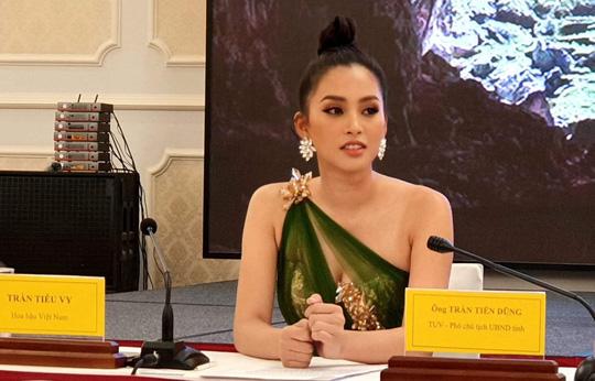 Hoa hậu Tiểu Vy được mời làm Đại sứ Lễ hội Hang động Quảng Bình 2019