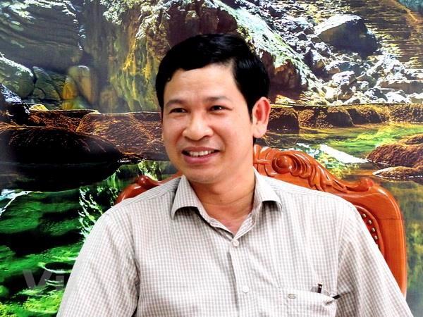 Ông Hồ An Phong, Giám đốc Sở Du lịch Quảng Bình.