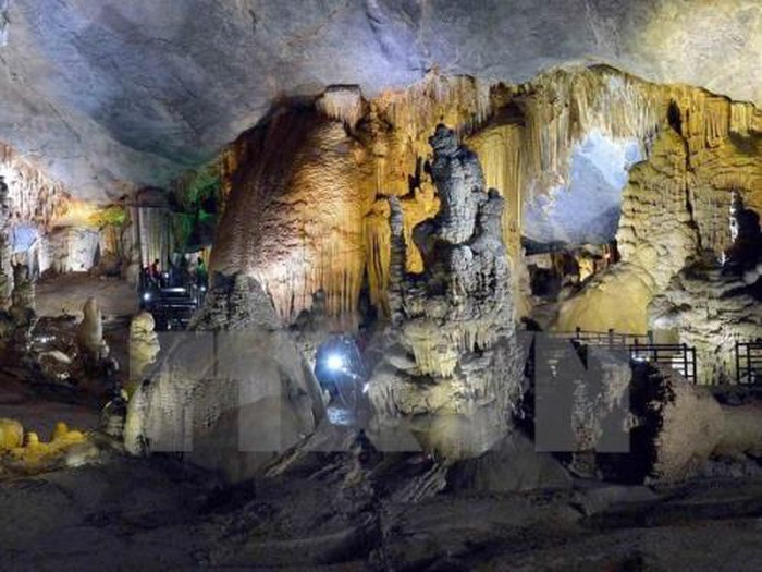 Động Thiên Đường, một kỳ quan thuộc Di sản thiên nhiên thế giới Vườn Quốc gia Phong Nha - Kẻ Bàng (Quảng Bình). Ảnh: Thanh Hà/TTXVN